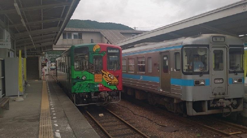 窪川駅 ホーム