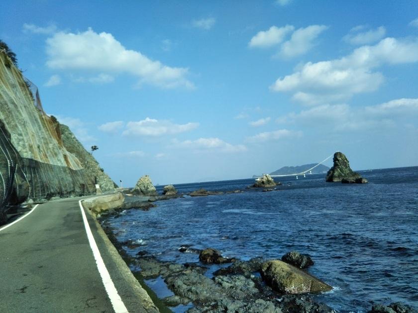 ビシャゴ浦姉妹岩