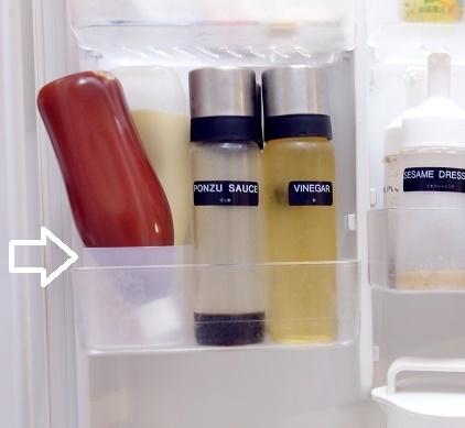 冷蔵庫・ドアポケット④