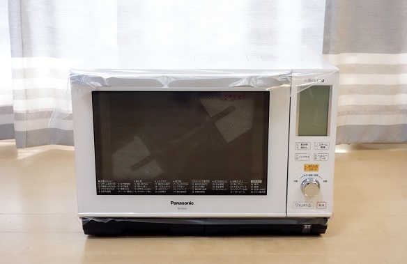電子レンジ・パナソニック・ビストロNE-BS603①