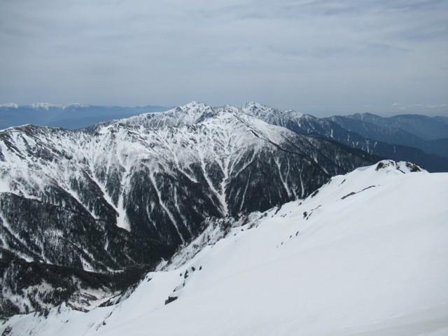 5月3日 空木岳,南駒ケ岳