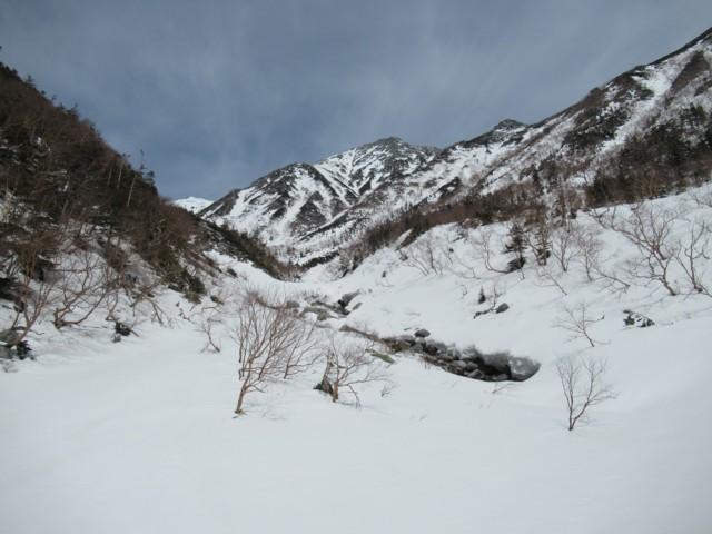 5月3日 稜線まで標高差600m