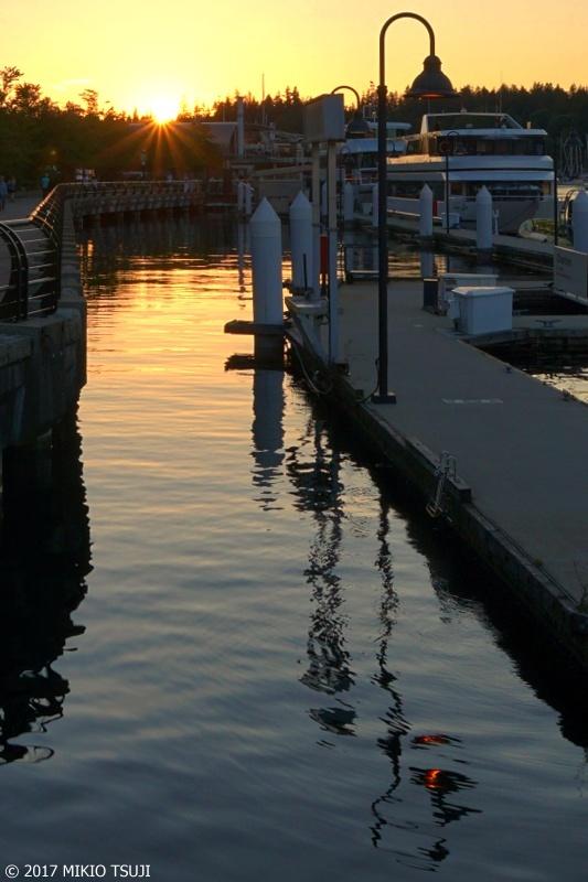 絶景探しの旅 - 0347 カナダの夕陽 (カナダ バンクーバー)